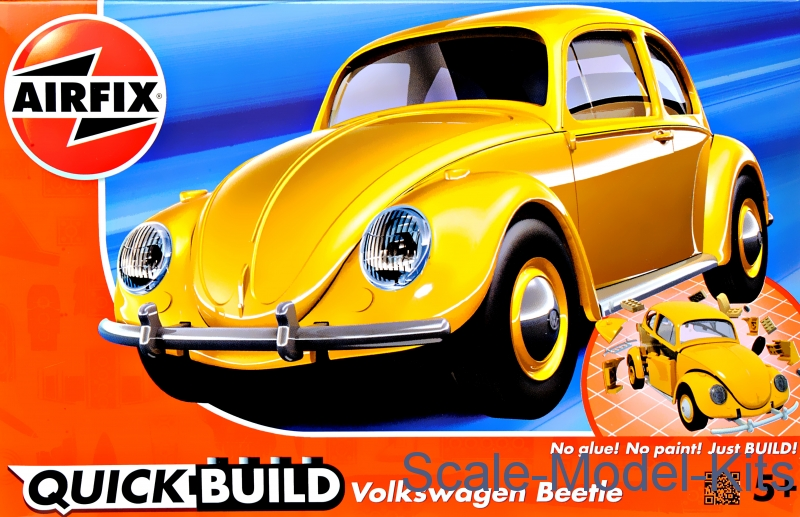 VW Beetle - Yellow (Lego assembly)