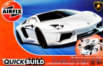 AIR-J6019 Lamborghini Aventador, white (Lego assembly)