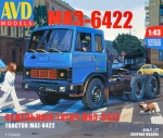 AVDM1172 Tractor MAZ-6422, early