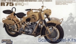 GWH-L3509 1/35 WWII German BMW R75 (2 motercycles)