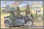 IBG35002 BMW R12 with sidecar, military version