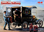 ICM24019 Gasoline delivery, Model T 1912 Delivery Car with American Gasoline Loaders
