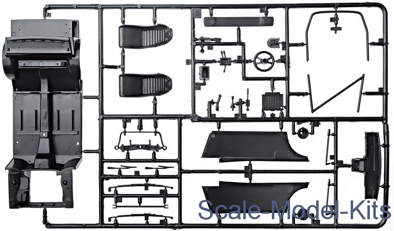 Italeri Ford Escort Rs1800 Mk Ii Plastic Scale Model