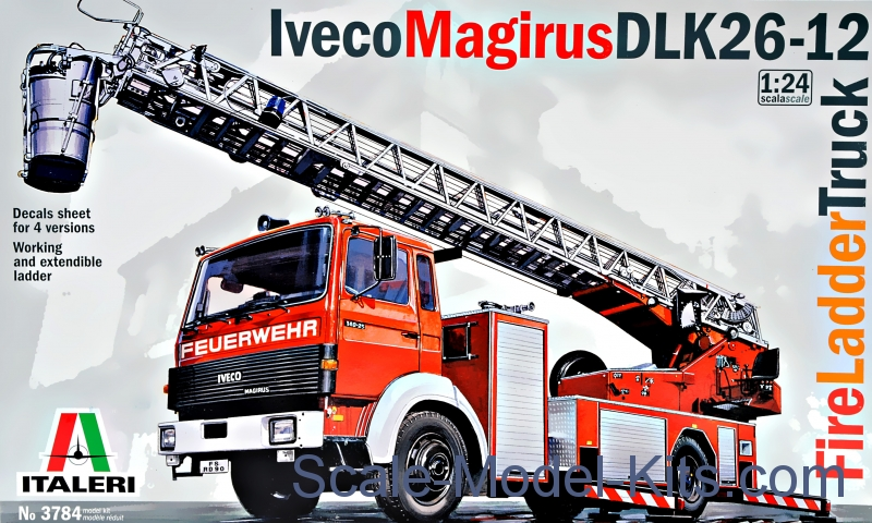 "Iveco ""Magirus"" DLK 26-12 Fire Ladder Truck"