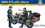 IT0315 BMW R75 with sidecar