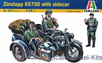 IT0317 Zundapp KS750 with sidecar