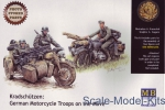 MB3548F Kradschutzen: German motorcycle troops on the move