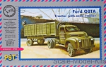 PST72065 Ford G8TA tractor with semitrailer