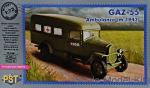 PST72081 GAZ-55 ambulance, 1943