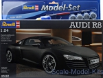 RV67057 Gift Set Audi R8 black