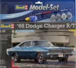 RV67188 Gift Set - 1968 Dodge Charger R/T