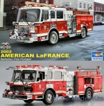 TR02506 LaFrance Eagle Fire Pumper 2002