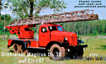 ZZ87202 Aerial ladder Magirus DL30 on Zil-157